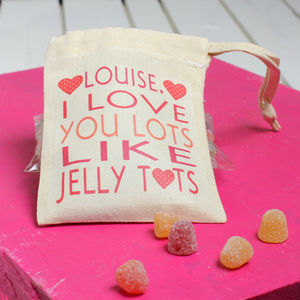 Personalised 'I Love You Lots' Sweets