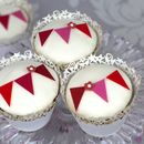 Bunting Cupcake Decoration Kit