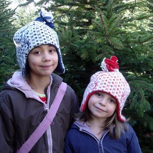 Reindeer Bobble Hat - hats, scarves & gloves
