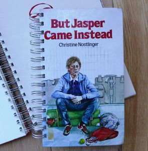 'Jasper Came Instead' Upcycled Notebook