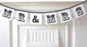 'Mr And Mrs' Bunting Sewing Kit