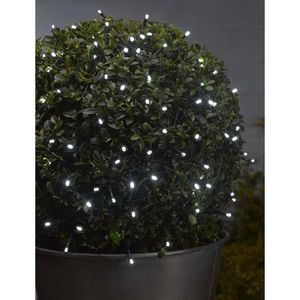 100 LED Battery White String Lights - outdoor decorations