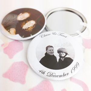 Personalised 'Wedding' Photo Mirror