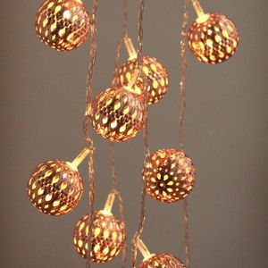 Grand Maroq Copper String Lights - copper christmas trend