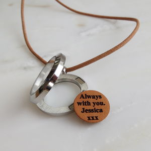 Memory Locket Necklace