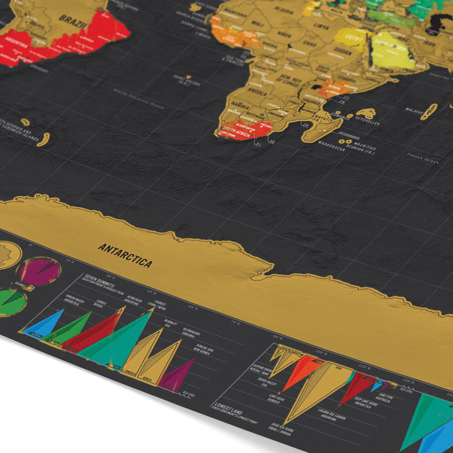 Scratch world map black luxury edition free shipping singapore packaged in a super high quality matte finish tube this scratch map makes a truly thoughtful and personal gift the perfect present for the globe trotter gumiabroncs Image collections