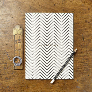 Zig Zag Notebook - shop by personality