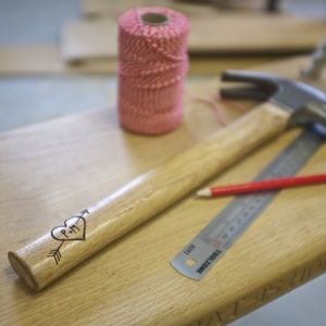 Personalised Hammer With Love Heart - home decorating