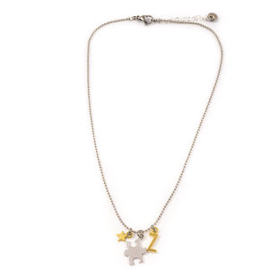 Jigsaw Piece Charm Necklace