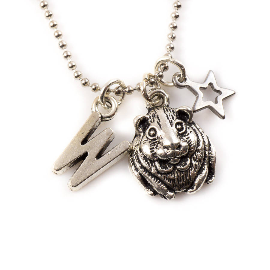 Little Hamster Charm Necklace