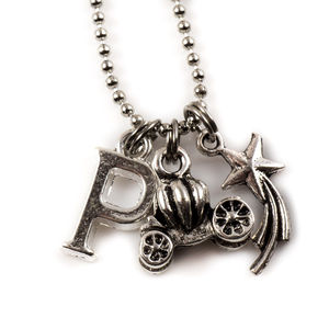 Cinderella Carriage Necklace - charm jewellery