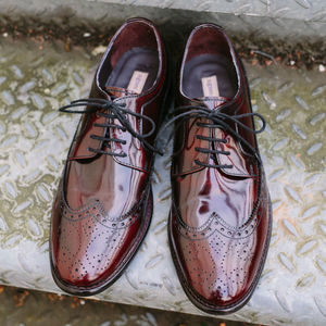 Teddy Vintage Leather Brogues