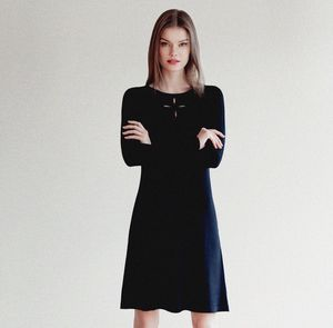 Fit And Flare Little Black Dress - winter sale