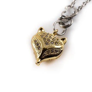 Fox Charm Necklace - women's jewellery