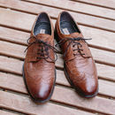 Harry Vintage Leather Lace Ups