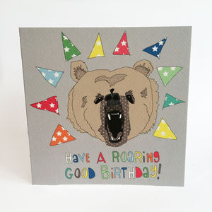 Roar! Birthday Greeting Card
