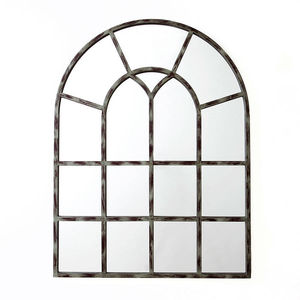Arched Window Wall Mirror