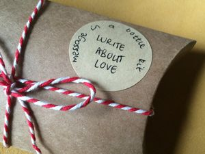 Message In A Bottle Love Note Kit - wedding favours