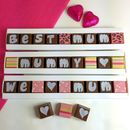 Personalised Chocolates For Girls Gifts