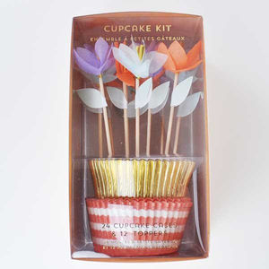 Flower Garden Cupcake Kit - baking kits