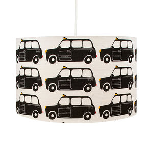 London Black Taxi Lampshade - lighting