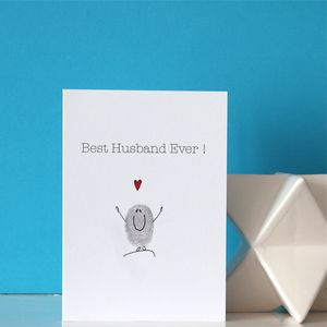 Best Husband Ever Card - anniversary cards
