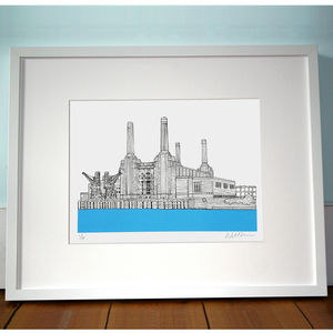 Battersea Power Station Print - contemporary art