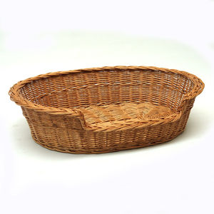Wicker Cat Dog Basket