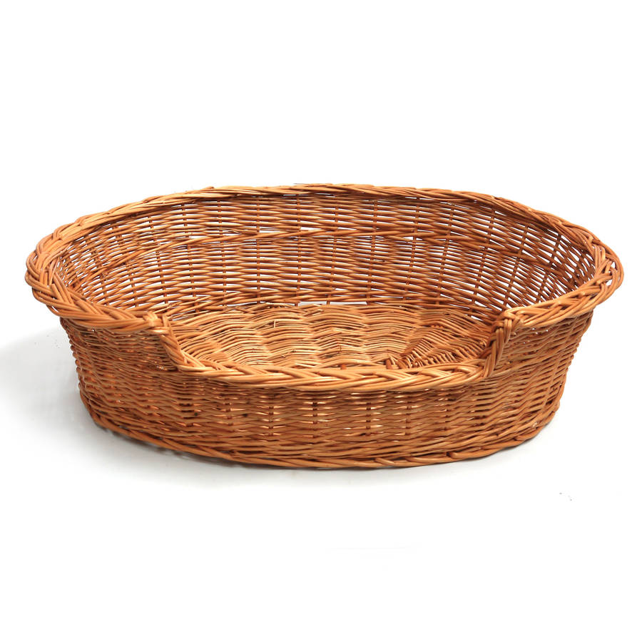 Wicker Cat Dog Basket By Prestige Wicker