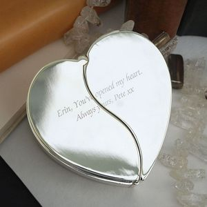 Silver Opening Heart Jewellery Box - what's new