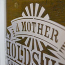 Mother's Day Papercut