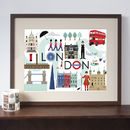 London Stylised Art Print