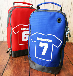 Personalised Football Boot Bag - personalised