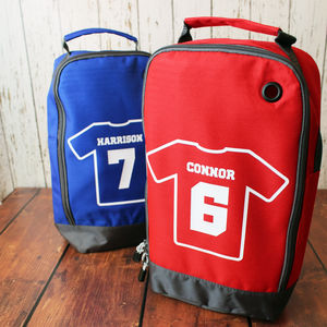 Personalised Football Boot Bag - gifts