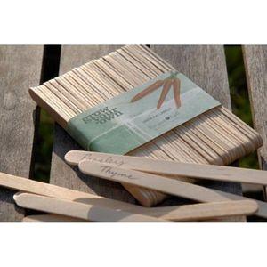 Wooden Plant Labels / Lollipop Sticks - plant labels & markers