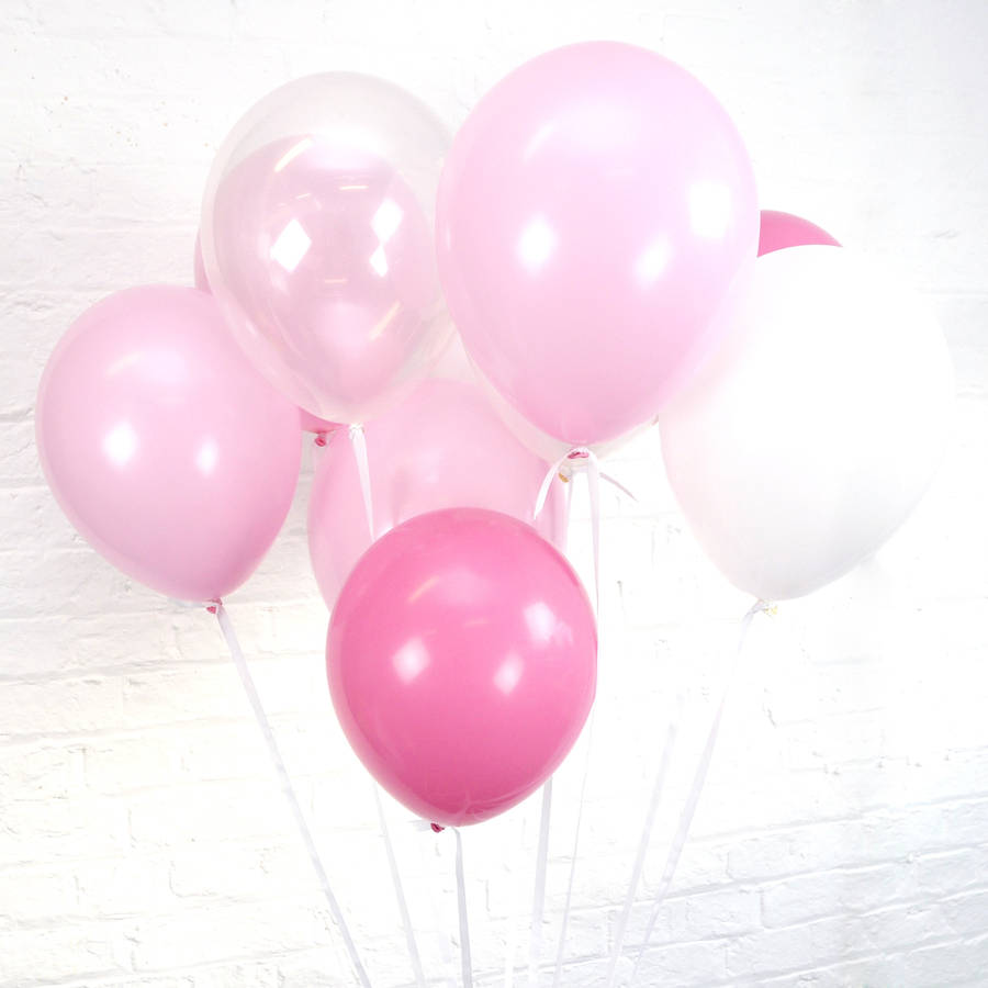 hen party balloons by peach blossom | notonthehighstreet.com