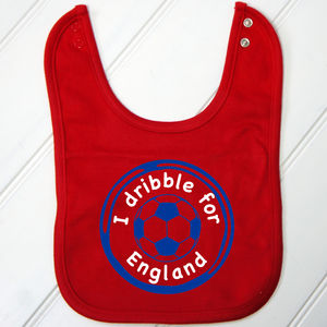 Personalised Baby's Football Bib - baby care