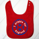 Personalised Baby's Football Bib