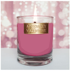 My Sweet Valentine Scented Candle - tableware