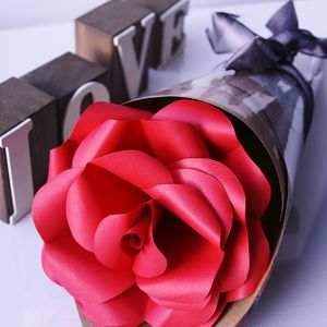 Red Paper Rose - fresh & alternative flowers