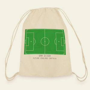 Personalised Sports Courts Kit Bag