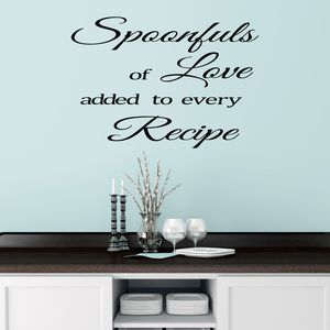 Kitchen Wall Sticker Quote