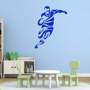 Tribal Rugby Wall Sticker