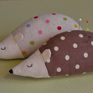 Little Hedgehog Pin Cushion - pin cushions
