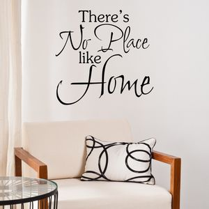 'No Place Like Home' Wall Sticker - decorative accessories