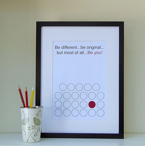Be Different Print