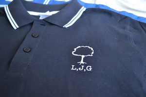 Family Tree Personalised Polo Shirt