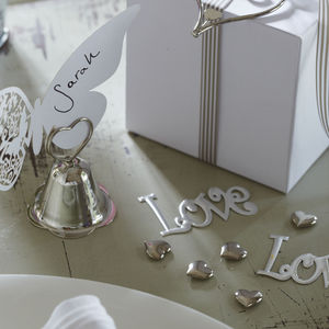 'Love Letters 'Wedding Table Confetti