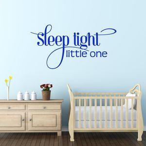 Sleep Tight Wall Sticker