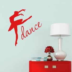 Dance Ballet Wall Sticker - wall stickers